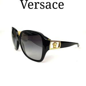 Versace Oversized Sunglasses